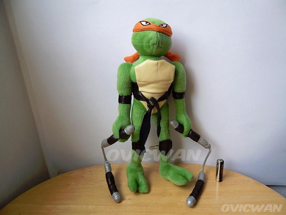 Peluche Miguel Angel 31 Cm Tortugas Ninja Turtles Mike