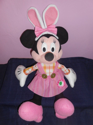 peluche minnie mouse original de disney 48 cms