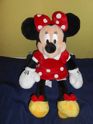 peluche minnie mouse original disney store 42 cms