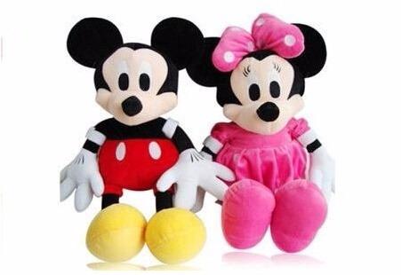 peluche minnie roja o rosa de 45cm para regalar dia del niño