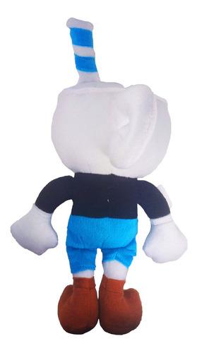 peluche mugman azul dont deal wit devil cuphead gigante 44cm