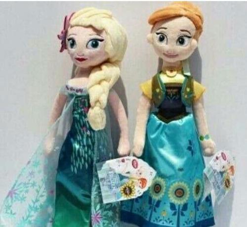 peluche muñeco princesas frozen gigantes