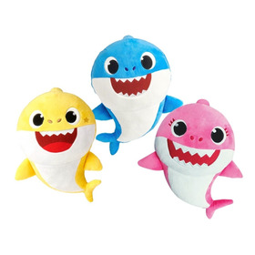 Peluche Musical Baby Shark 30cm Licencia Oficial Nickelodeon