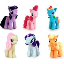 peluche my little pony 30cm
