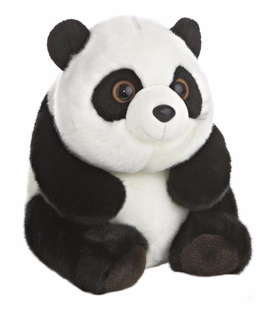 Peluche Osito Panda Negro Y Blanco Aurora S 149 90