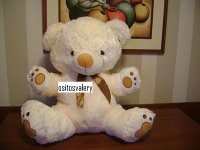 peluche oso  grande musical importado envio gratis