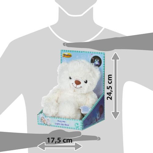peluche oso luminoso melodias 30cm babymovil 0172-nl