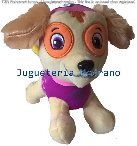 peluche paw patrol 6 personajes patrulla canina muñeco 20 cm