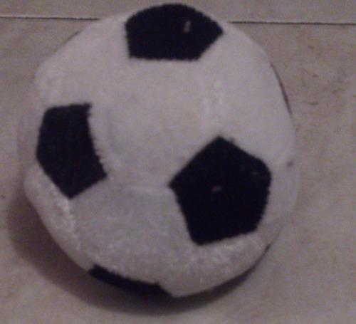 peluche pelota fútbol - carita (peso de globos con helio)