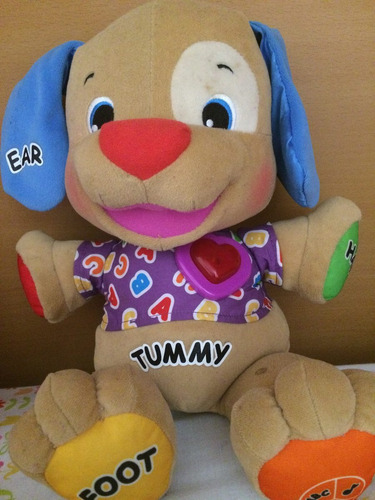 peluche perrito tummy fisher price