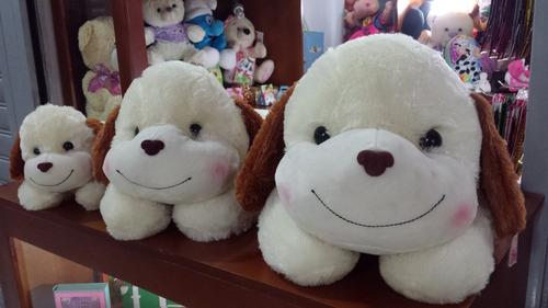 peluche perro blanco grande 70 cm hipoalergenico