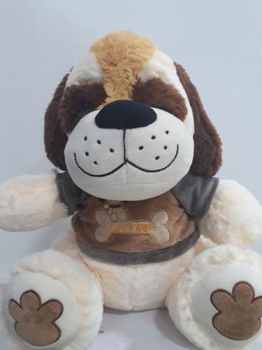 peluche perro de 50 x 35 con sonido