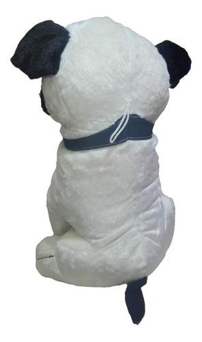 peluche perro raza pug 53cm toy factory regalo navidad amor