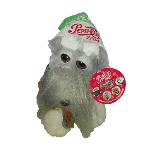 peluche perro raza snauzer 22cm sizzle pepsi regalo navidad