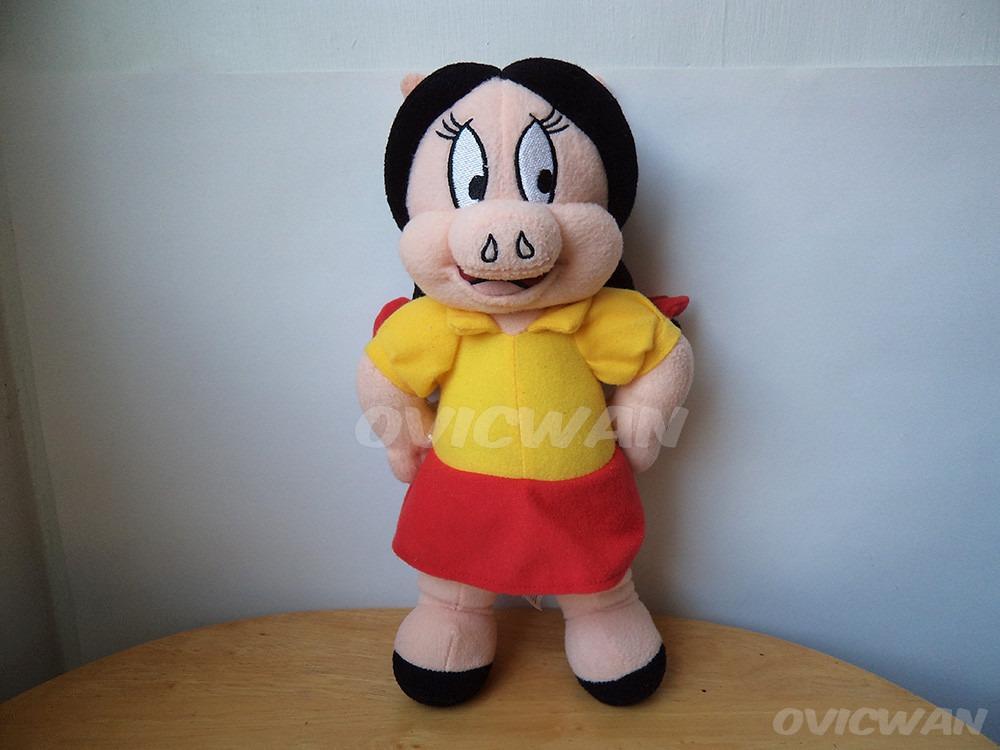 Peluche Petunia 31 Cm Looney Tunes Novia De Porky Lt51 Cargando Zoom