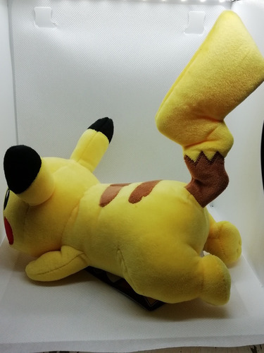 peluche pikachu edición limitada pokemon center