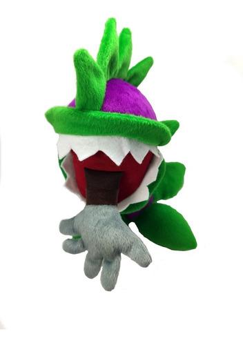 peluche planta carnivora plantas vs zombies juguete 27cm