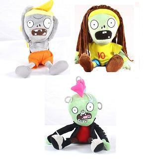 peluche plantas vs zombies ps3 ps2 vs modelos 30 cm