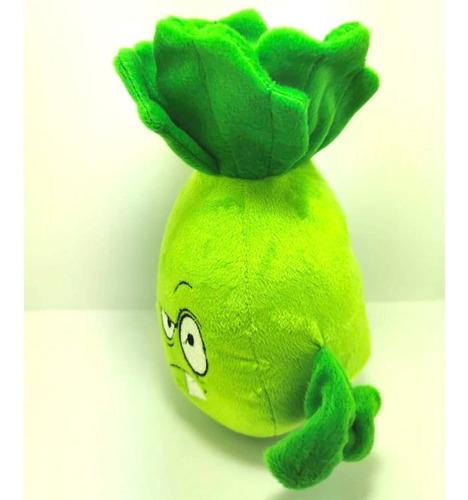 peluche plants vs zombies bonk choy lechuga boxer golpe 24cm