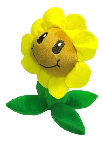peluche plants vs zombies juguete sunflower girasol 26cm
