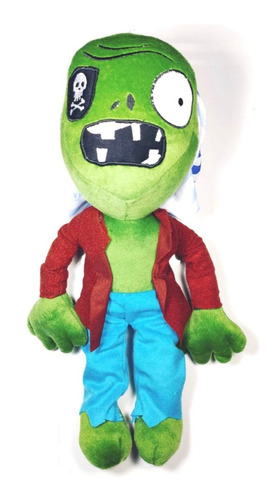 peluche plants vs zombies zombie pirata pirate juguete