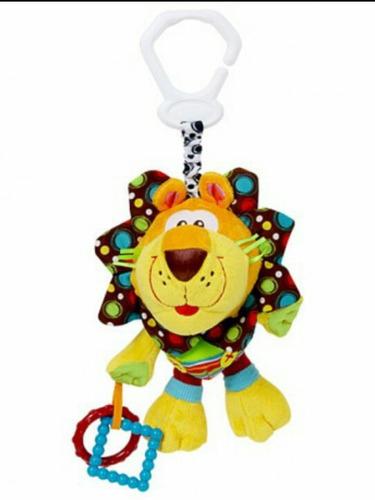 peluche playgro  para bebes amigo leon bebe