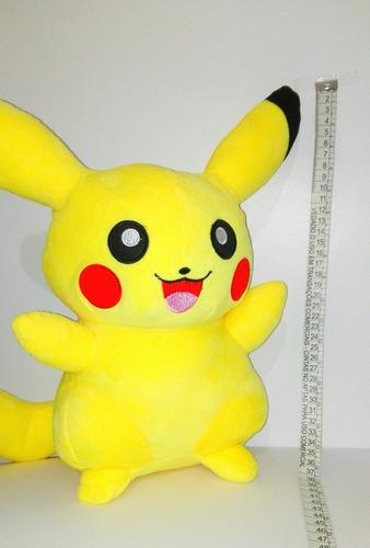 peluche pokémon pikachu 37 cm. entrega inmediata