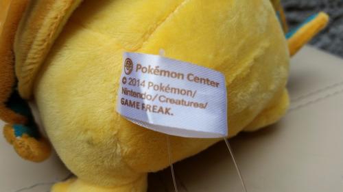 peluche pokemon pikachu disfrazado de charizard 23cm