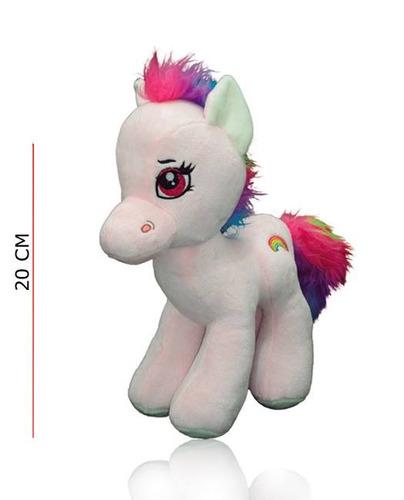 peluche pony soft pelo multicolor nenas phi phi toys