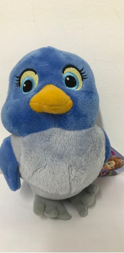 peluche princesa sofia blue bird ardilla 25cm