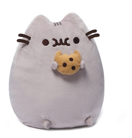 Peluche Pusheen The Cat With Cookie Gund 24 Cm Altura Suave