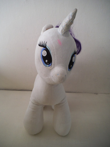 peluche rarity mi pequeño pony build a bear workshop
