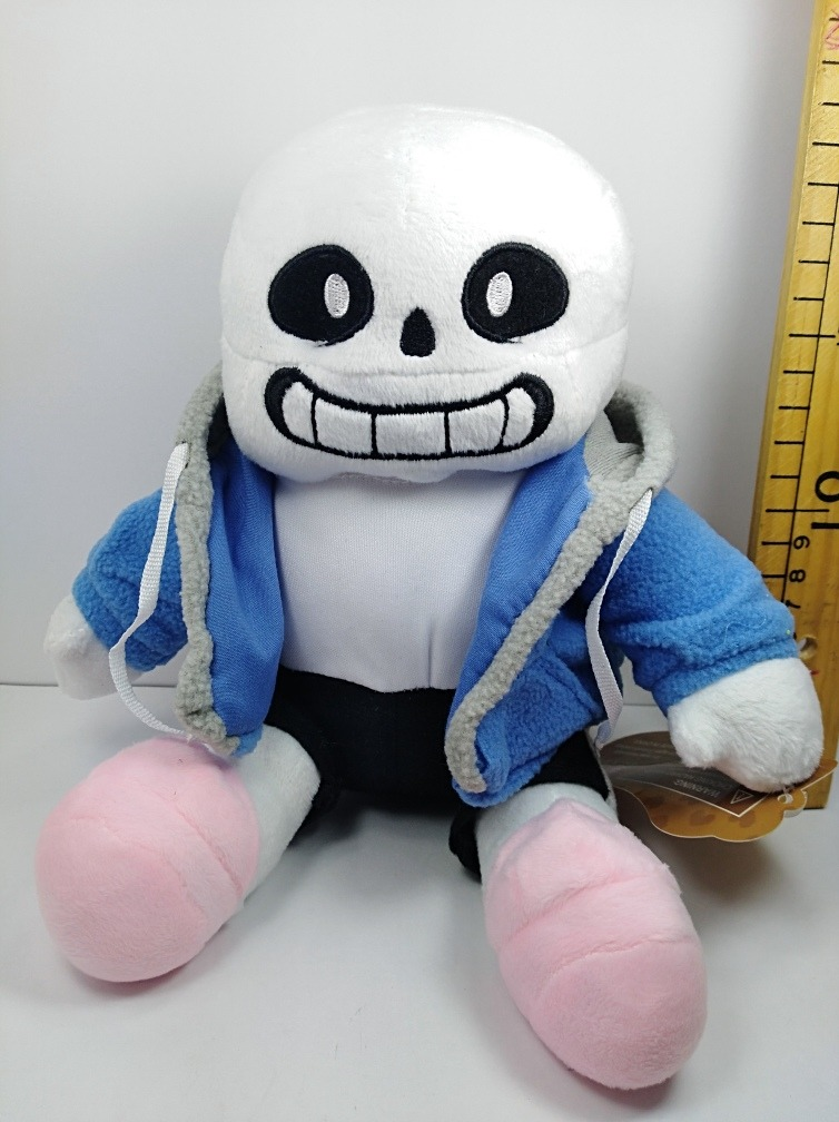 peluche sans undertale original 20cm en mercado libre. Black Bedroom Furniture Sets. Home Design Ideas