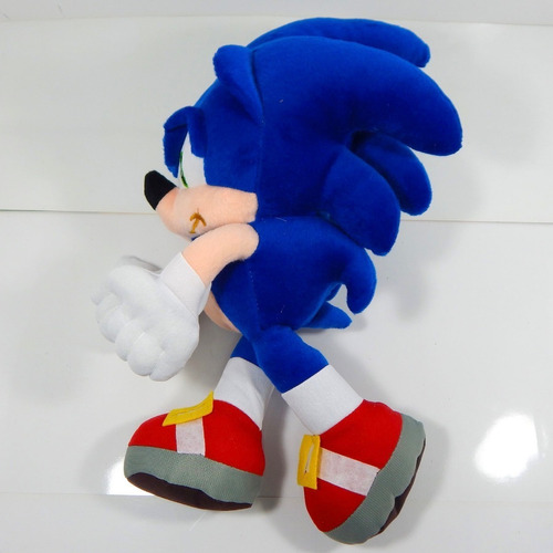 peluche sonic boom 34cm erizo azul the hedgehog envio gratis