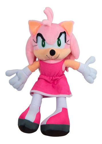 peluche sonic the hedgehog amy rose rosa regalo envio gratis