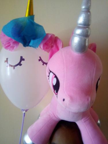 peluche stitch unicornio caja globo regalo san valentin oso