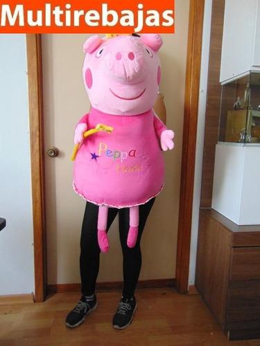 peluche super gigante peppa pig