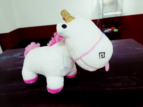 peluche unicornio agnes minions 20 cm