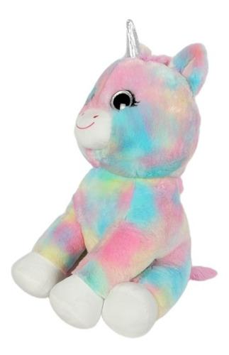 peluche unicornio glowcorns mega 61cm luz y sonido 52110 ful