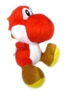 peluche yoshi rojo- importado-tienda jesus maria