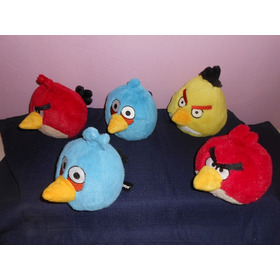 Peluches Angry Birds 13 Cms