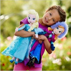 Peluches De Elsa Y Anna Pelicula Frozen Disney Envio Gratis