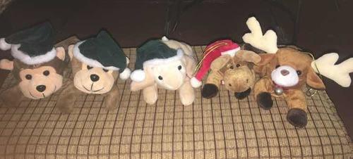 peluches de navidad para arbolito