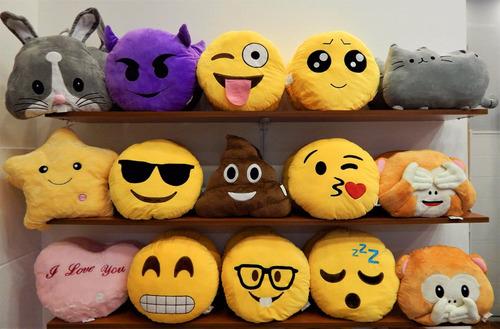peluches emoticones emoji caritas 35 cm fotos reales