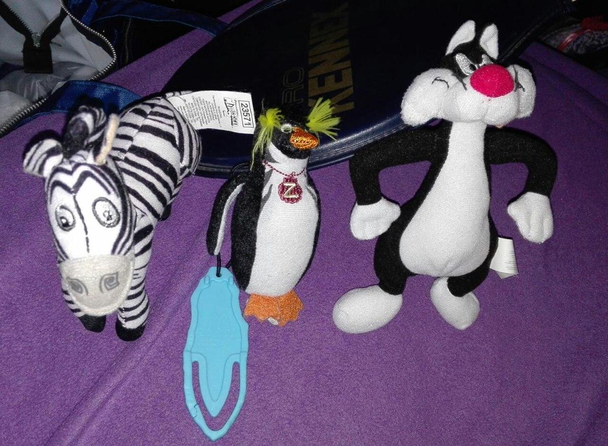 peluches gato silvestre cebra marty y pingüino gran z. Cargando zoom. 470073ba1f7