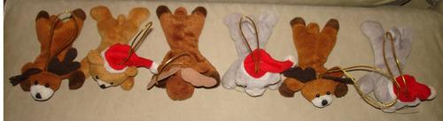 peluches navideños para arbolito de navidad importados