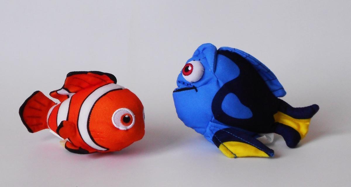 Peluches Nemo Y Dory De Buscando A Nemo