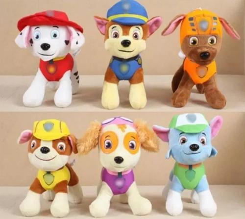 peluches paw patrol patrulla canina 20 cm hermosos muñeco