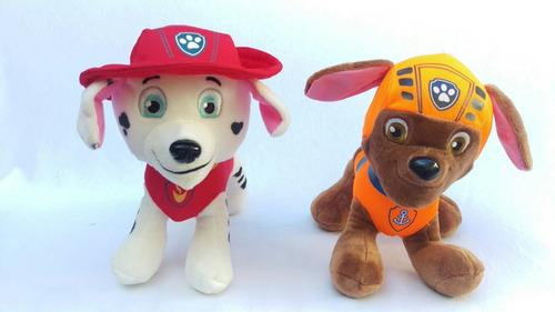 peluches paw patrol patrulla canina promo x 6 *envio gratis*