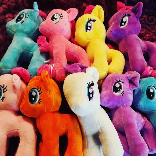 peluches pequeño pony